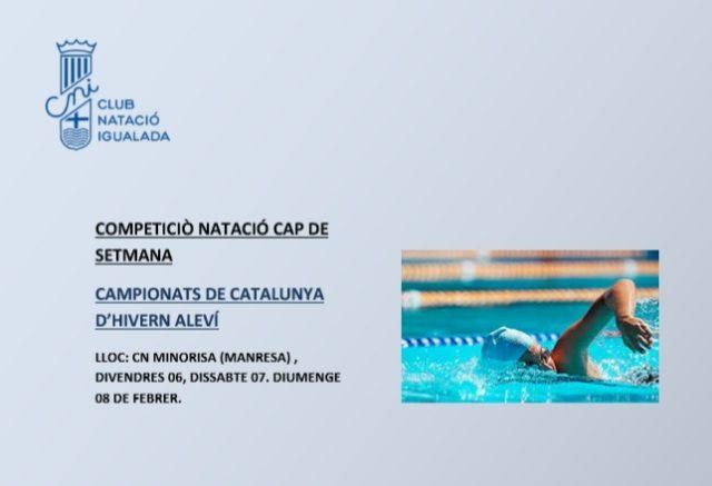 COMPETICIONS NATACIÓ CAP DE SETMANA